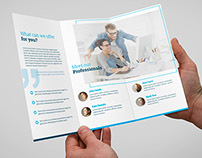 Miniminimal Brochure Tri-Fold