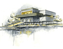 """C.A.R.A. Boathouse; An Architecture of """"In-Between"""""""