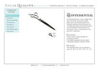 ShearQuality.com web design