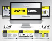 WayToGrow Powerpoint & Keynote Template