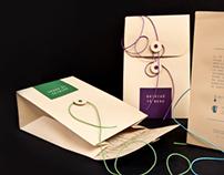 Ghirigò tea packaging