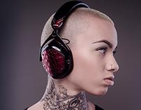 V-Moda Headphone/ Model Photo Shoot