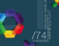 Barcelona Media Design / Design Manifesto Mockups
