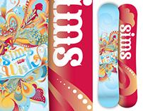 2011-2012 Sims Wish - Girls Snowboard