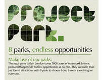 The Royal Parks- rebrand