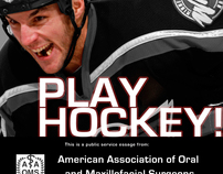 Amusing Hockey Advertisement