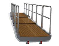 Boarding-platform Passarelle