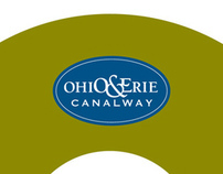 Ohio & Erie Canalway // Branding, Collateral, Maps