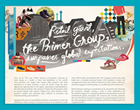 Primer Awards Advertorial Layout for Phil Star
