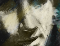 woman portraiture - digital painting