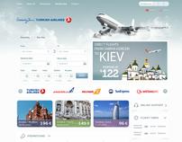 Airline Tickets Site Design