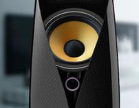 Carbon Fiber Speakers