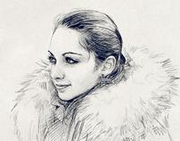 Natasha in Winter