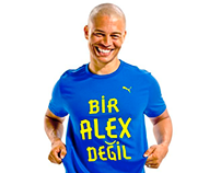 Alex De PUMA Logo Design