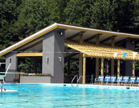 Carderock Springs' Covered Deck Pavilion, Carderock Md