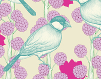 Flowers & Plants Illustrations Surface Design