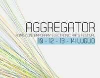 Aggregator Festival - Visual Identity