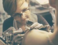 Pure Form - studio tattoo Promotional Video