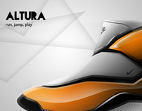 Nike Altura - Concept (Personal Sketch)