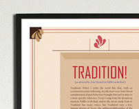 Tradition! Exhibition Collateral