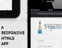 My Company Projects - Responsive Application