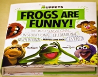 """The Muppets """"Frogs are Funny!"""" Book"""