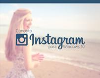 Conceito - Instagram para Windows 10