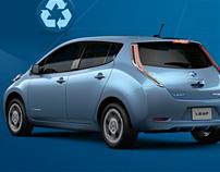 Nissan Choose Zero Website