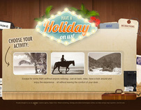 Have a holiday on us- Website