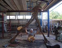 "18th International Sculpture Symposium "" Meander "" 2012"