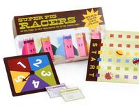 Super Pig Racers! Board Game