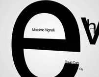 Helvetica Title Sequence