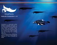 GhostManta Underwater Documentation in 3-D