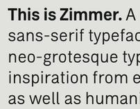 Zimmer typeface