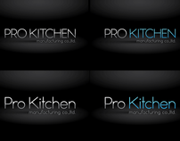 PRO KITCHEN MANUFACTURING CO.,LTD. LOGO DESIGN