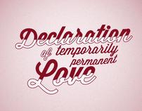 """Declare Your Love"" - Victoria Secret"