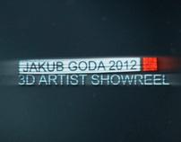 3D Showreel 2012