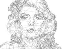 Debbie Harry Line Portrait