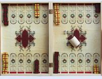 backgammon design (for christmas)