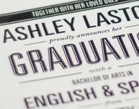 Ashley's Announcement