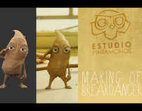 "making of ""Sculpey Dance"""