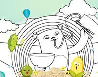 Demo for Gau Yeu noodle
