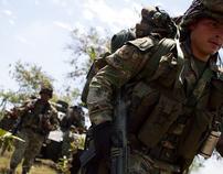 La guerra a tres bandos en el Cauca