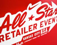 2012 Nike MLB All-Star Retailer Event Invitation