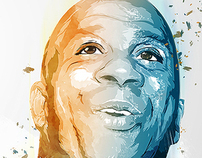 Magic Johnson - Poster Illustrations