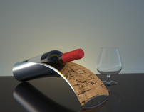 Súber - Wine Bottle Holder
