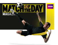 Match of the Day - BBC - Microsite