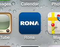 RONA - iPhone app