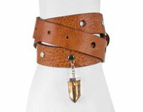 ROBIN HOOD leather jewelry for your urban jungle outfit
