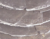 Andy Goldsworthy book design